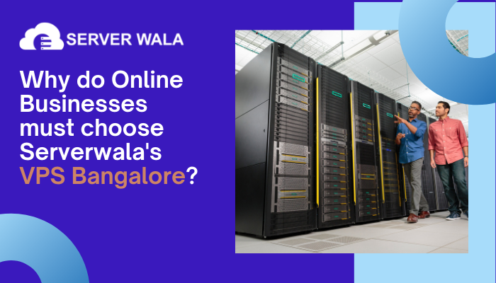 Why do Online Businesses must choose Serverwala's VPS Bangalore?