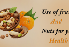 Photo of Use of fruits and nuts for your health